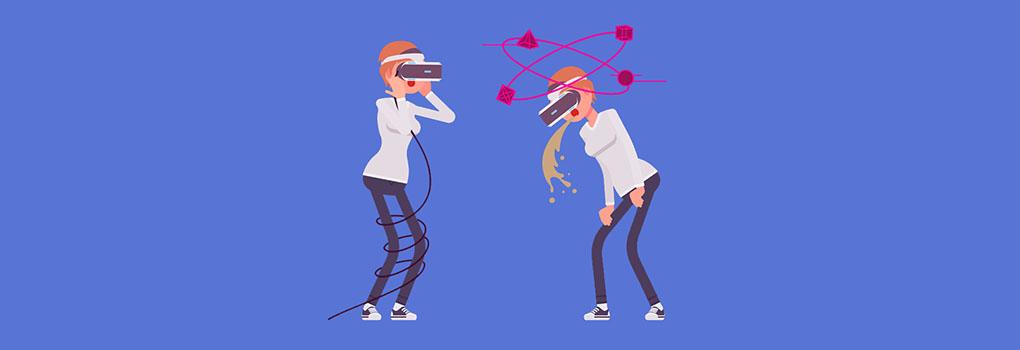 Motion Sickness in VR: Warum es passiert und wie man es minimiert