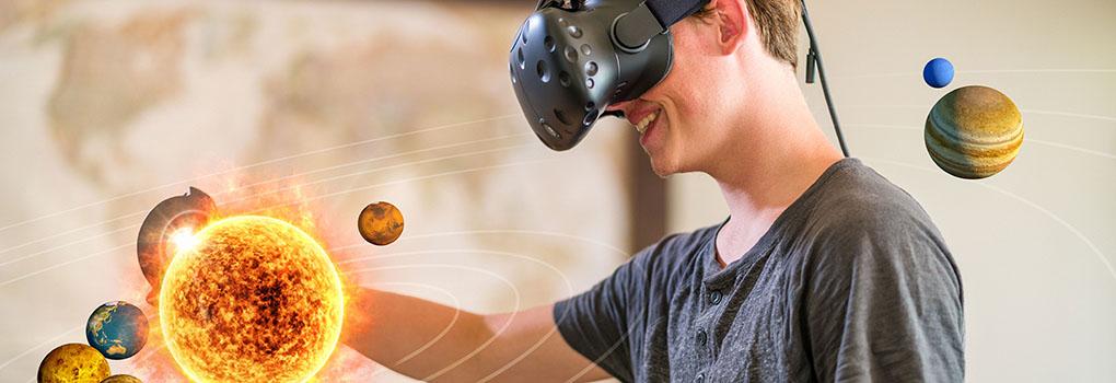 Wie Virtual Reality das Online-Lernen verbessern kann